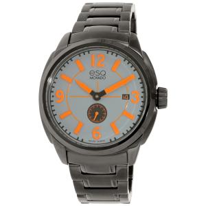 Esq Men's Excel 07301450 Black Stainless-Steel Swiss Quartz Watch
