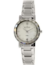 Skagen Women's Leonora 457SSSX Silver Stainless-Steel Quartz Watch