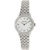 Bulova Women's Diamond 96R181 Silver Stainless-Steel Quartz Watch