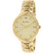 Bulova Men's 97L125 Gold Stainless-Steel Quartz Watch