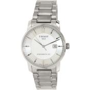 Tissot Men's T087.407.44.037.00 Silver Titanium Swiss Automatic Watch