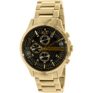 Armani Exchange Men's Smart AX2137 Gold Stainless-Steel Quartz Watch