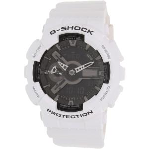 Casio Men's G-Shock GA110GW-7A White Resin Quartz Watch