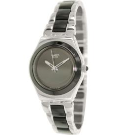 Swatch Women's Irony YLS168GC Silver Stainless-Steel Swiss Quartz Watch