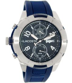 Lacoste Men's Tonga 2010761 Blue Silicone Analog Quartz Watch