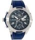 Lacoste Men's Tonga 2010761 Blue Silicone Analog Quartz Watch - Main Image Swatch