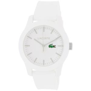 Lacoste Men's 2010762 White Silicone Analog Quartz Watch