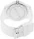 Lacoste Men's 2010762 White Silicone Analog Quartz Watch - Back Image Swatch