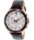 Tommy Hilfiger Men's 1791118 Rose Gold Leather Analog Quartz Watch - Main Image Swatch