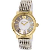 Swarovski Women's Piazza 1000670 Gold Leather Swiss Quartz Watch