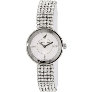 Swarovski Women's Piazza 1183490 Silver Leather Swiss Quartz Watch