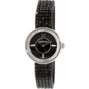 Swarovski Women's Piazza 1183491 Black Leather Swiss Quartz Watch