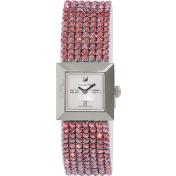 Swarovski Women's Elis 1183537 Red Leather Swiss Quartz Watch