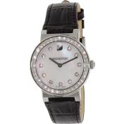 Swarovski Women's Citra 5027221 Black Leather Swiss Quartz Watch