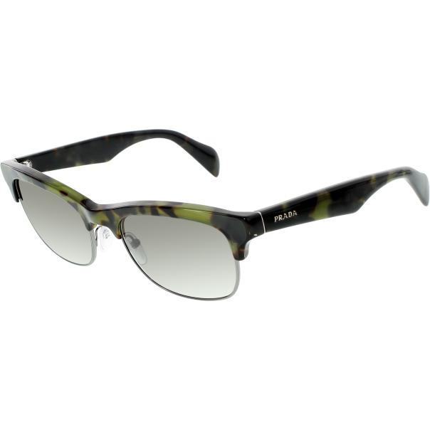 Rimless Shell PradaCepar Semi Sunglasses Tortoise T1FclKJ