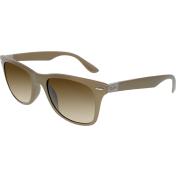 Ray-Ban Men's Gradient Wayfarer RB4195F-6033/13-52 Brown Wayfarer Sunglasses