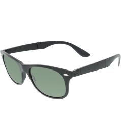 Ray-Ban Men's Polarized  RB4223-601S/9A-55 Black Square Sunglasses