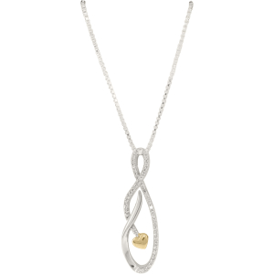 Exotic Identity Women's Heart Pendant Necklace