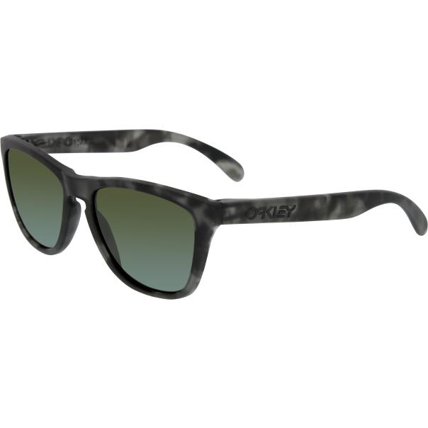 oakley men 39 s frogskins 24 415 black square sunglasses. Black Bedroom Furniture Sets. Home Design Ideas