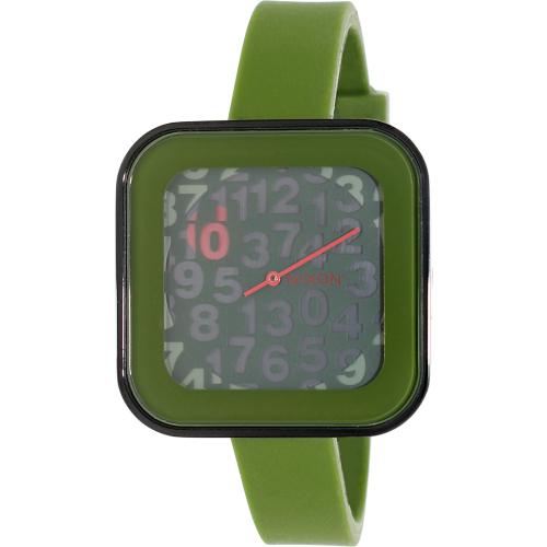 Nixon Women's Rocio A1621048 Green Silicone Quartz Watch