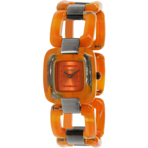Nixon Women's Sisi A248877 Orange Plastic Quartz Watch