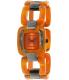 Nixon Women's Sisi A248877 Orange Plastic Quartz Watch - Main Image Swatch