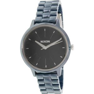 Nixon Women's Kensington A261307 Blue Ceramic Quartz Watch