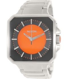 Nixon Men's Platform A272583 Silver Stainless-Steel Quartz Watch