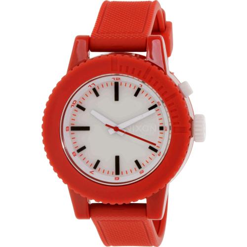Nixon Women's Gogo A287200 Red Silicone Quartz Watch
