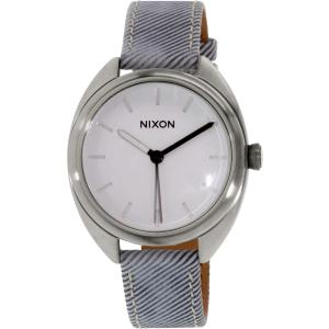 Nixon Women's Wit A318850 Grey Leather Quartz Watch