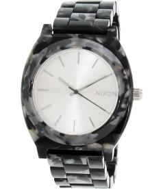 Nixon Women's Time Teller A3271039 Black Plastic Quartz Watch