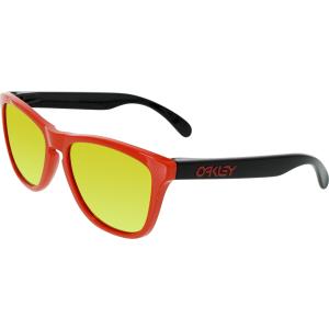 Oakley Men's Frogskins OO9013-34 Orange Square Sunglasses
