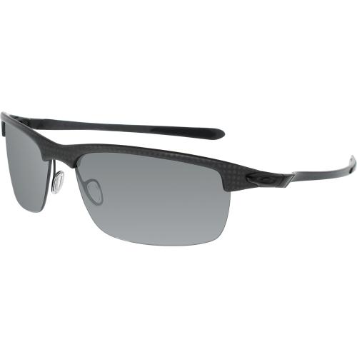 c870389e1bc ... Carbon black UPC 700285887241 product image for Oakley Men s Polarized  Carbon Blade OO9174-03 Grey Semi- ...
