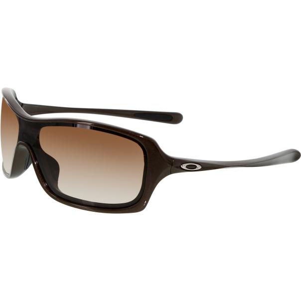 oakley women 39 s gradient break up oo9202 03 brown shield sunglasses. Black Bedroom Furniture Sets. Home Design Ideas