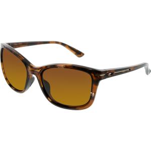 Oakley Women's Polarized Drop In OO9232-03 Brown Butterfly Sunglasses
