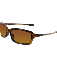 Oakley Women's Dispute OO9233-06 Tortoiseshell Rectangle Sunglasses