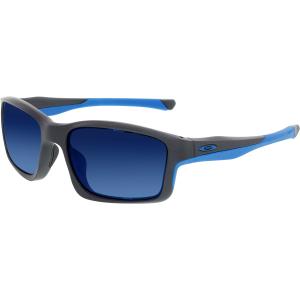 Oakley Men's Chain Link OO9247-05 Grey Square Sunglasses