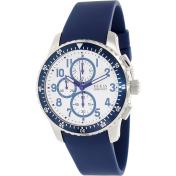 Guess Men's U12651G2 Blue Silicone Quartz Watch