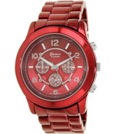 Geneva Platinum Men's 9303.RED Red Metal Quartz Watch