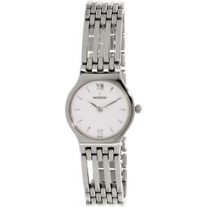 Movado Women's 0604021 Silver Stainless-Steel Analog Quartz Watch