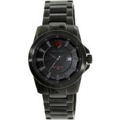 Swiss Eagle Men's SE-9056-55 Black Stainless-Steel Swiss Quartz Watch