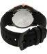 Swiss Eagle Men's SE-9061-05 Black Rubber Swiss Quartz Watch - Back Image Swatch