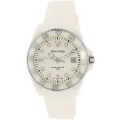 Swiss Eagle Women's SE-9052-11 White Silicone Swiss Quartz Watch
