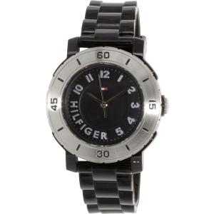 Tommy Hilfiger Men's 1781158 Black Rubber Analog Quartz Watch