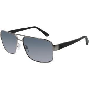 Emporio Armani Men's  EA2002-301081-57 Gunmetal Square Sunglasses