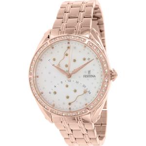 Festina Women's Classic F16742/1 Rose Gold Stainless-Steel Quartz Watch