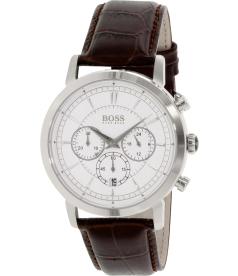 Hugo Boss Men's 1512871 Brown Leather Quartz Watch