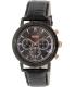 Hugo Boss Men's 1513064 Black Leather Quartz Watch - Main Image Swatch