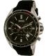 Hugo Boss Men's Driver 1513087 Black Leather Quartz Watch - Main Image Swatch