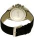 Hugo Boss Men's Driver 1513087 Black Leather Quartz Watch - Back Image Swatch